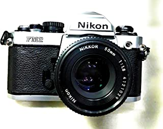 rm Camera- Excellent FM-2N Classic Student 35mm Film Camera with Lens Working Conditions-(N 8439821)