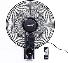Geepas 16 Inch Wall Fan, Black, GF9479N