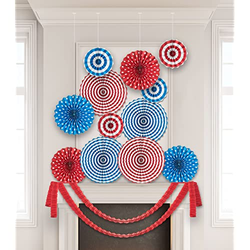 Red And Blue Graduation Party Supplies Amazon Com