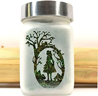 Alice in Wonderland Stash Jar, Through the Looking Glass Gifts for Her and Stash Jars, Stoner Girl Accessories