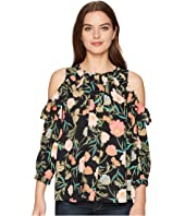 Kate Spade New York - Blossom Cold Shoulder Top