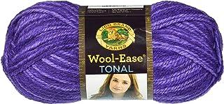 Lion Brand Yarn Wool-Ease Tonal Yarn-Amethyst, Other, Multicoloured, 8.89x20.32x8.89 cm