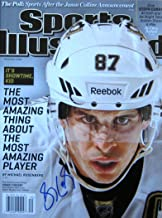 Sidney Crosby PITTSBURGH PENGUINS autographed Sports Illustrated magazine 5/13/13