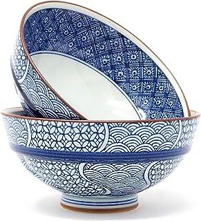 Arita Ware Traditionelle japanische Reisschalen aus Porzella