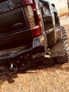 REK GEN 'Merica Mud Flaps Dually (Black Flag)