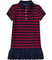 Polo Ralph Lauren Kids - Stretch Cotton Polo Dress (Toddler)