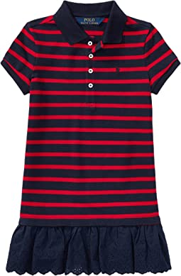 Polo Ralph Lauren Kids - Stretch Cotton Polo Dress (Toddler)