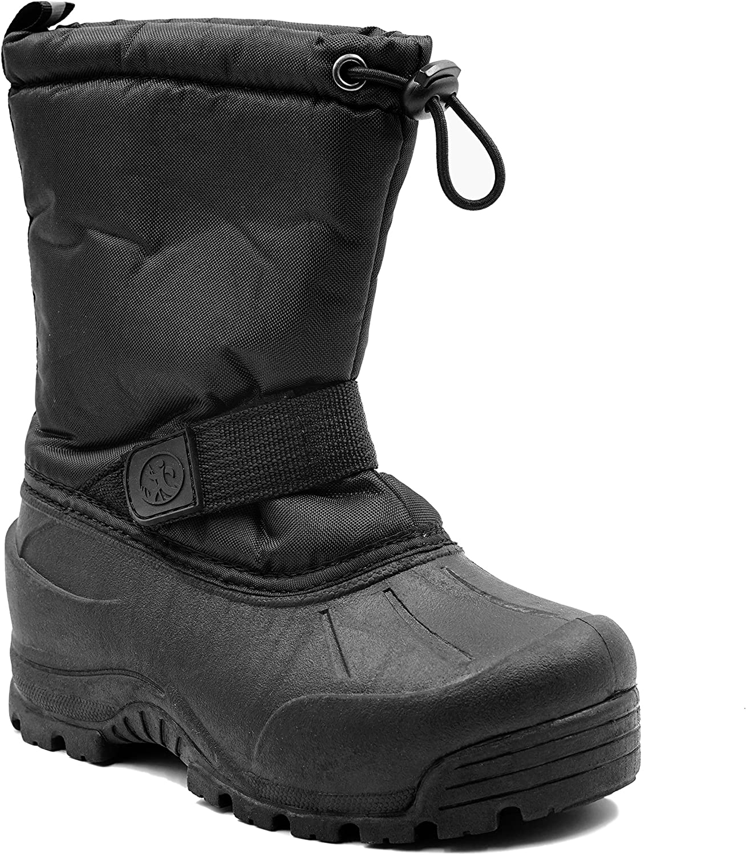 Echo Bay Frosty Girls' Weather Boot Purple: Shoes