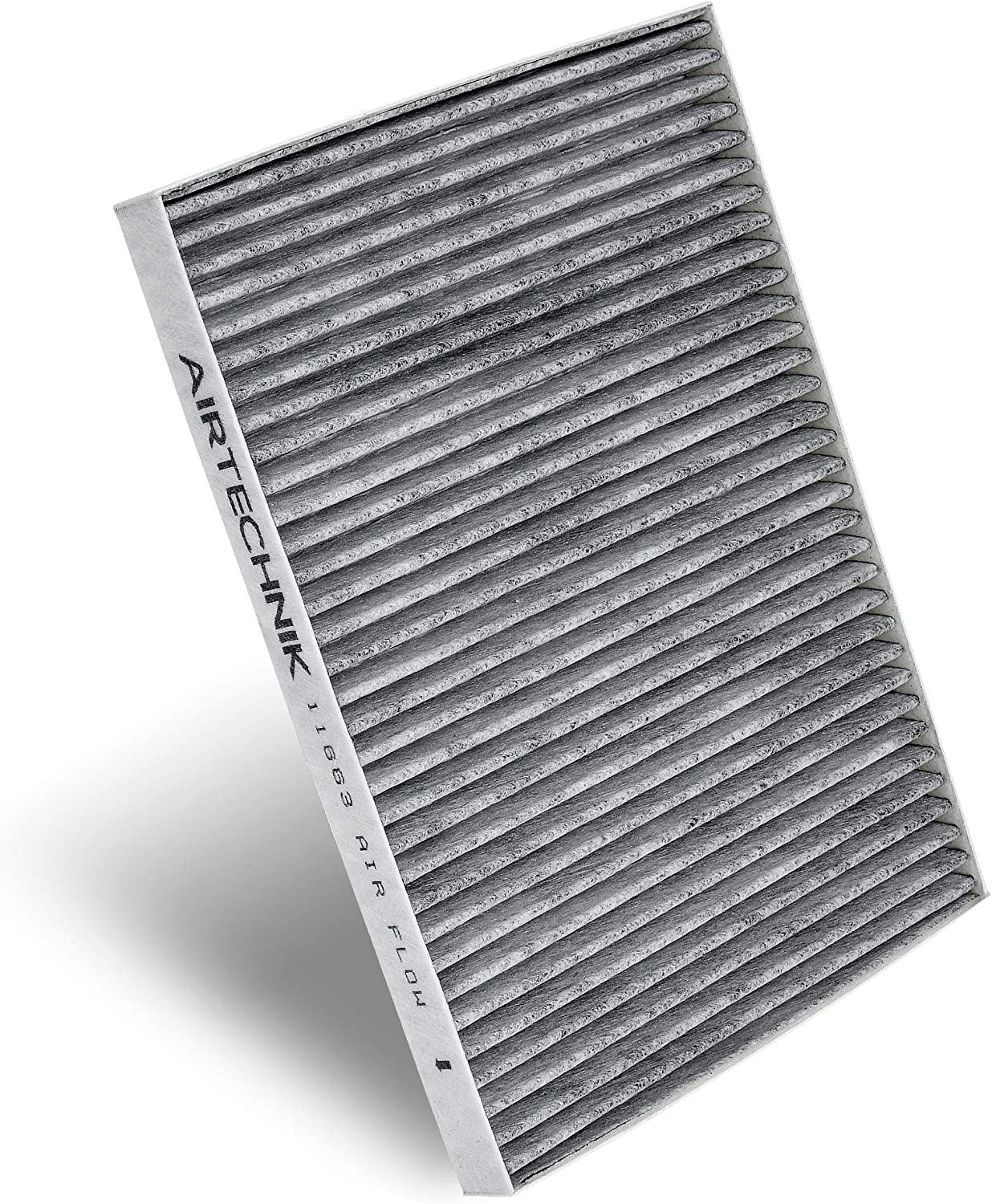 Premium Cabin Air Filter w//Activated Carbon AirTechnik CF11663 Replacement for GMC//Chevy//Buick//Saturn