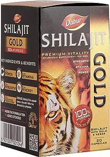 Dabur Shilajit Gold for Strength, Stamina and Power - 20 Capsules