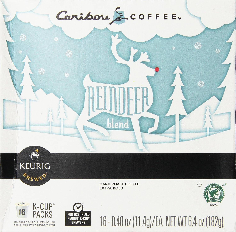 Caribou Reindeer Blend Keurig 2.0 K-Cup Pack, 16 Count