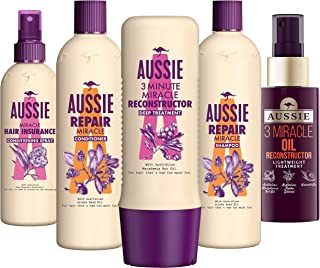 Aussie Hair Care Shampoo and Conditioner Set with Macadamia