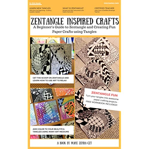 Zentangle Inspired Crafts A Beginners Guide To Art And Craft