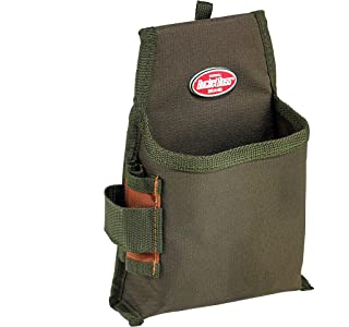 Bucket Boss Fastener Tool Pouch with FlapFit in Brown, 54160