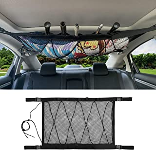 MDSTOP SUV Ceiling Storage Net with Fishing Rod Holder,...