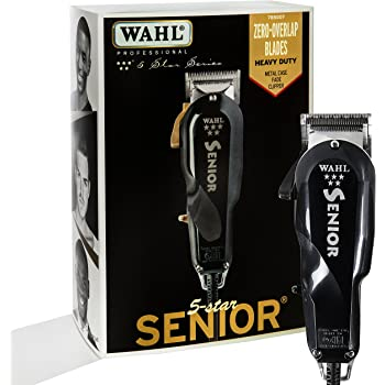 Wahl Professional 5 Star Senior Clipper for on Scalp Tapering and Fading, Precision Fades, and Clipper Over Comb Work for Professional Barbers and Stylists - Model 8545