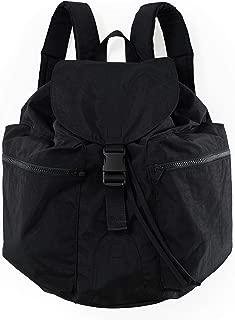 BAGGU Large Sport Backpack, a Lightweight Backpack for Everyday Use, Black