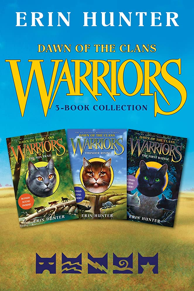 くつろぐイサカ性差別Warriors: Dawn of the Clans 3-Book Collection: The Sun Trail, Thunder Rising, The First Battle (English Edition)