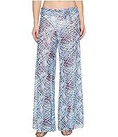 Letarte - Printed Mesh Pants