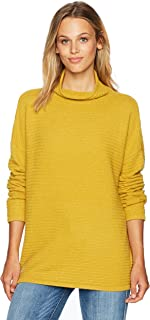French Connection Womens 78IAT Lena Knits Sweater Pullover Sweater - Yellow