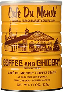 Half a Dozen Cans (6 Cans) of Coffee Du Monde – 15 oz. cans
