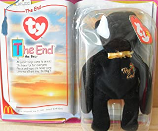 G35272299 1 X TY Teenie Beanie Babies The End Bear Stuffed Animal Plush Toy