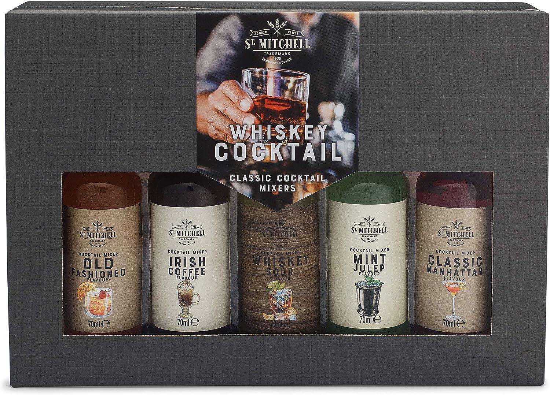 Modern Gourmet Foods, Set de Regalo Mezcladores de Whisky, Pack de 5 Sabores