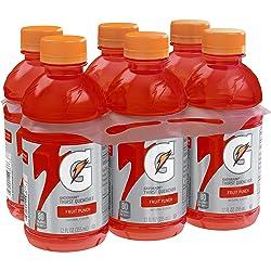 Gatorade Thirst Quencher, Fruit Punch, 12 oz, 6 Bottles