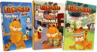 The Garfield Show (Pasta Wars / Turkey Trouble / Ready, Set, Garfield!) (3-pack Collection)
