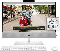 HP 27 Pavilion All-in-One PC, 10th Gen Intel i7-10700T Processor, 16 GB RAM, Dual Storage 512 GB SSD and 1TB HDD, Full HD ...