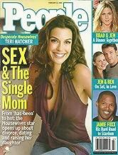 Teri Hatcher (Desperate Housewives), Jamie Foxx, Jennifer Aniston, Paul McCartney - February 14, 2005 People Magazine