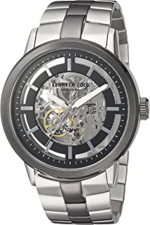 Kenneth Cole New York Men's Japanese Automatic Watch Stainless Steel Case Stainless Steel Strap Silver Analog Display,(Model No.10026785)