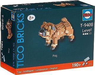 TICO Mini Bricks dog series Pug T-9408