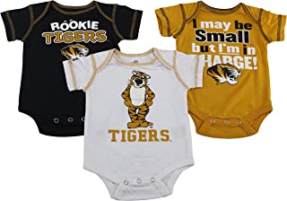Outerstuff Missouri Tigers Baby Clothing, 3 Piece Creeper Apparel Set