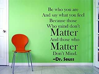 Design with Vinyl 1 dr Seuss 14 20x30 Wall Decal, 20 Inches X 30 Inches, Black