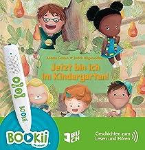 Jetzt bin ich im Kindergarten Geschichten zum Lesen und Hören - sprachcodiert für TING und BOOKii