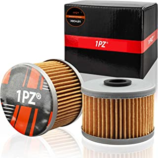 1PZ HX3-L01 Oil Filter Replacement Parts for Honda 300 Fourtrax 1988 1989 1990 1991 1992 1993 1994 1995 1996 1997 1998 1999 2000 2001 (Pack of 2)