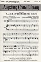 Saviour of The Nations Come - and - Long Ago and Far Away - Sheet Music Unison (Augsburg Choral Library, 11-1660)