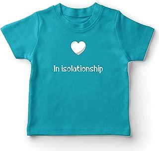 lepni.me Kids T-Shirt in Isolationship Relationship Romantic Virus Quarantine