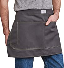 product image for Artifact Unisex Artisan Canvas Waist Apron - Made in Omaha (Slate)