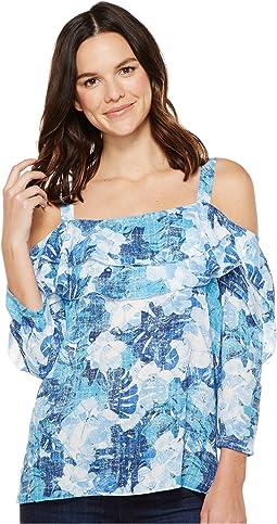 Cote D Azur Tropics Matisse Blue