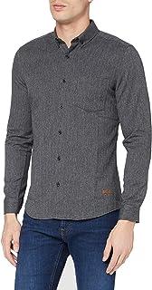 Lee Cooper Men's RECYCLED HERRINGBONE S Shirt