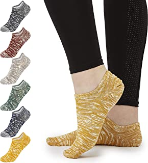 Calcetines Mujer, Pack de 7 Calcetines Tobilleros Mujer, Calcetines Cortos de Algodón Suave, Calcetines Invisibles Pinkies Mujer, Regalos Para Mujer Adolescentes Talla 37-40