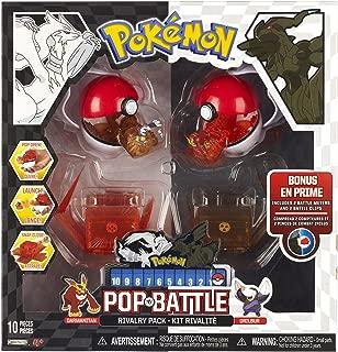 Pokemon Pop 'N Battle Rivalry Pack B&W Series #2 Drilbur and Darmanitan