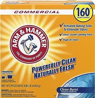 Arm & Hammer 33200-00109 Powder Laundry Detergent, Clean Burst, 9.86 lb. (Pack of 3)