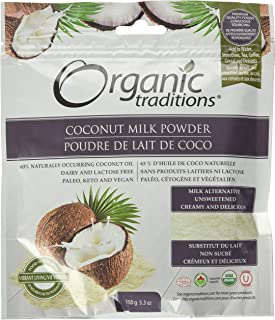 Organic Traditions Coconut Milk Powder, 150 gm