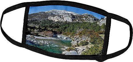 3dRose Kike Calvo Spain - Uldemo River Beceite - Face Masks (fm_10599_1)