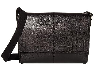 Scully Dannie Messenger Bag (Black) Bags