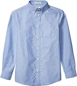 Long Sleeve Magnetically-Infused Button-Down Shirt (Big Kids)
