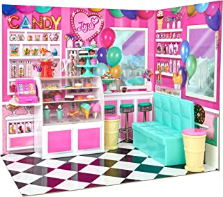 myLife Brand Products My Life As JoJo Siwa Doll Candy Shop Play Set, Vibrantly Colored
